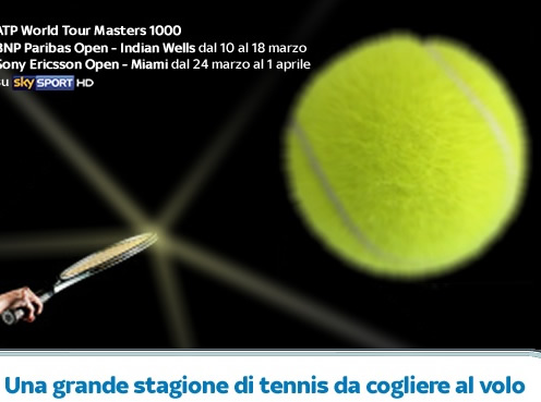Una grande stagione di tennis da cogliere al volo